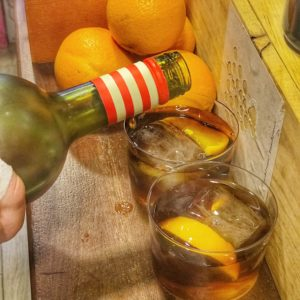 what to drink in Valencia Valencian vermut Valencian Vermouth with ice and orange